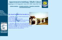 Appartementvermittlung Sibylle Lützen
